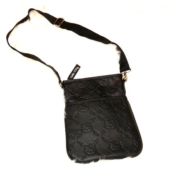 d87dcfd42d Hello Kitty Handbags - Black Hello Kitty Crossbody Bag💖